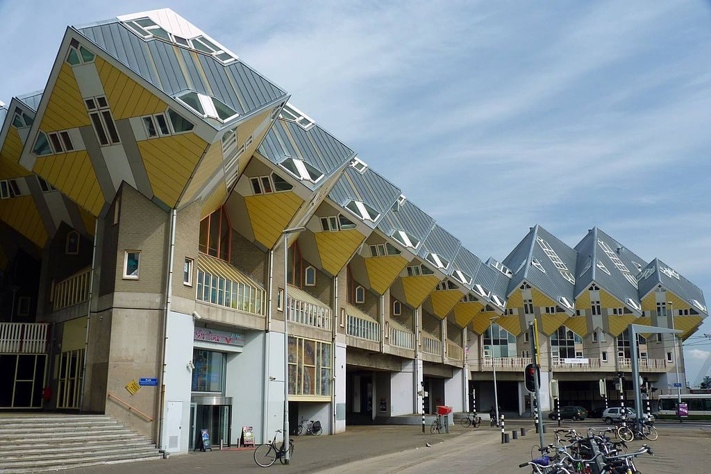 cube houses holland